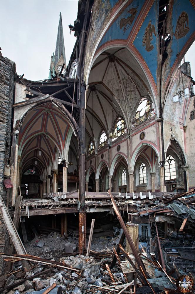 St Bonaventure Church (Philadelphia, PA) | Cut Away View - St. Bonaventure Roman Catholic Church