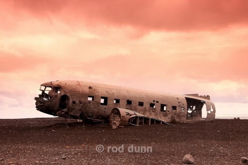 DC3 wreck Vik 2 - Iceland