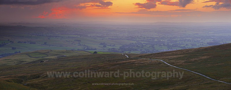 Veiw from Tailbridge hill - The Pennines and The Lake District