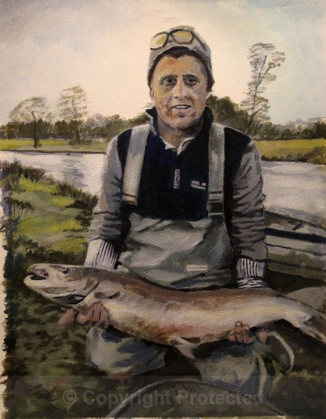 'Good Will Fishing' - Portraits and figurative work