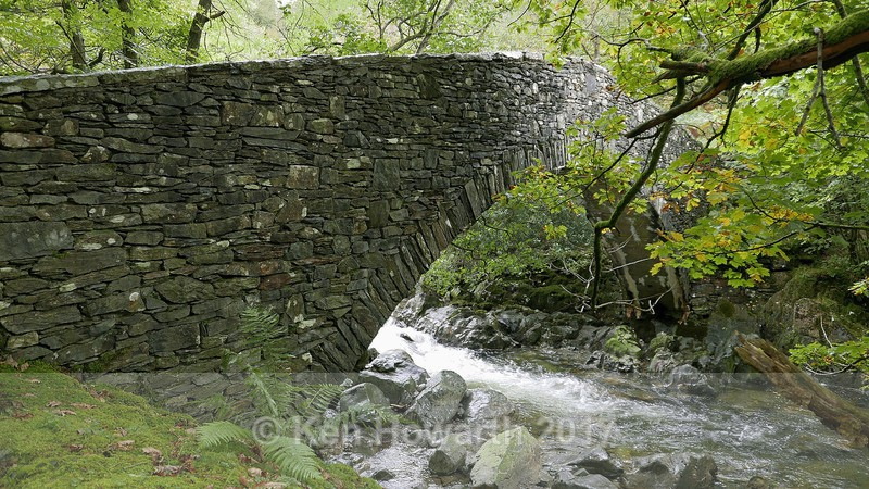 Seathwaite, footbridge over the River Duddon - Lakeland Landscapes