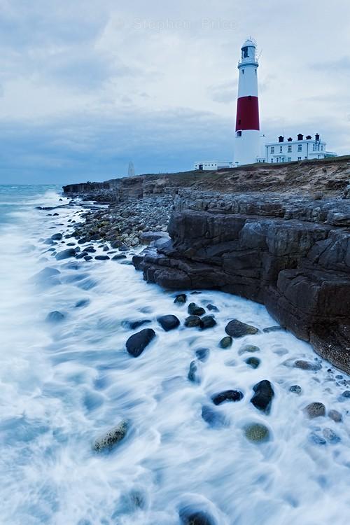 Portland Bill Lighthouse | Stormy Dorest Photo Location