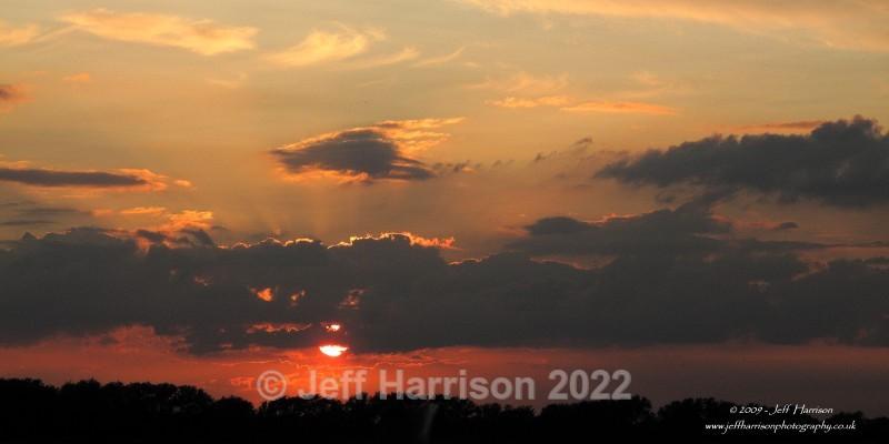 Dawn sky over Tubney Fen (image TubF 02) - Landscapes & Skies
