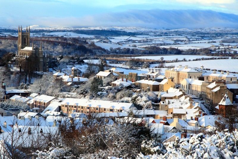 Above the Town - Downpatrick