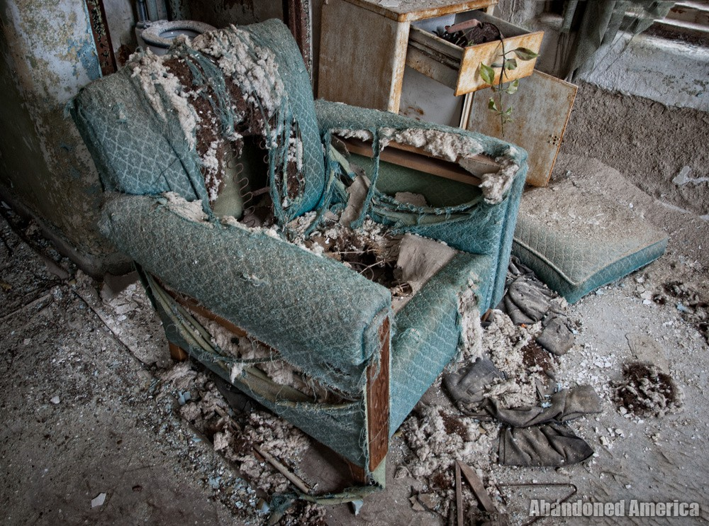Stuffed Chair | Norwich State Hospital