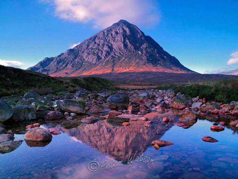Buachaillie Etive Mor Glen Etive  Rannoch Moor - Scotland