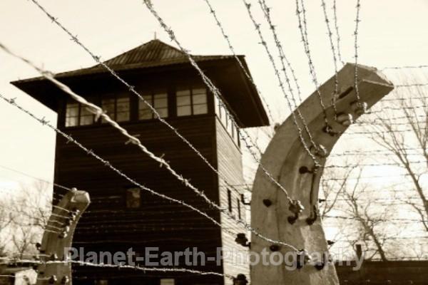 Auschwitz Watch tower - Auschwitz