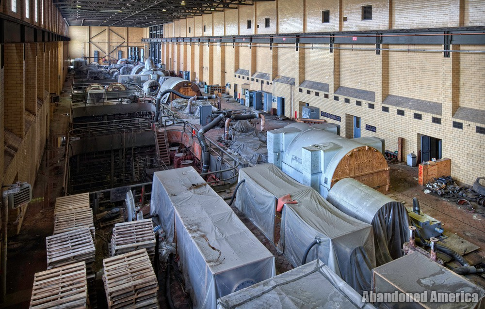 Frank R. Phillips Power Station (South Heights, PA) | Crane View - Frank R. Phillips Power Station