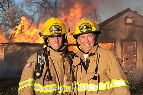 Terry and Nate - Fallon/Churchill Fire Department
