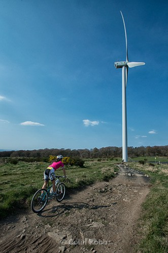 Cathkin Braes mountain bike track | Commonwalth Games 2014