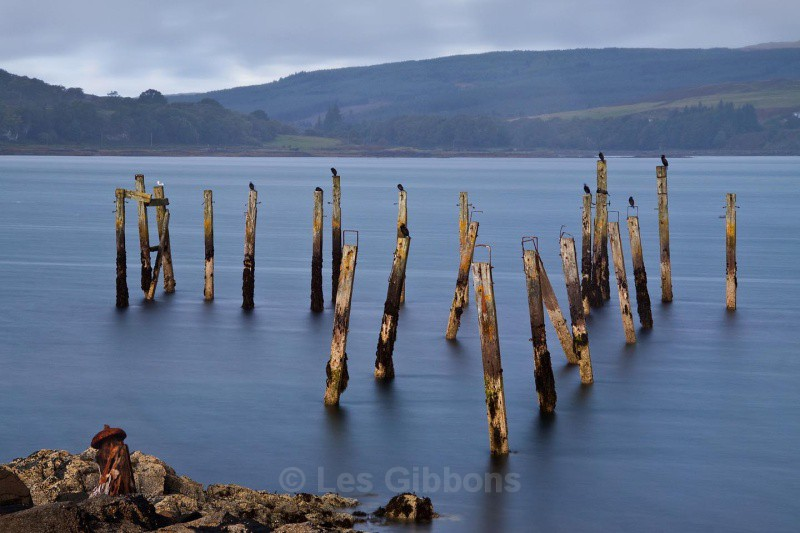 resting posts - Mull and Iona