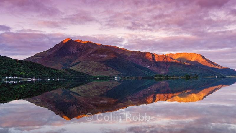 Sunrise at Loch Leven