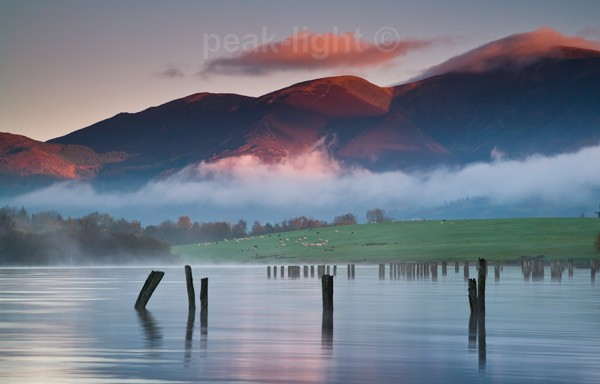 Sunrise, Derwent Water - The Lakes