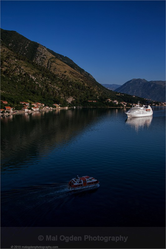 Tenders at the Ready - Kotor (Montenegro)