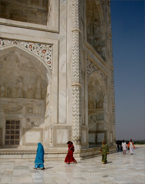 Papped at the Taj once more - TRAVEL