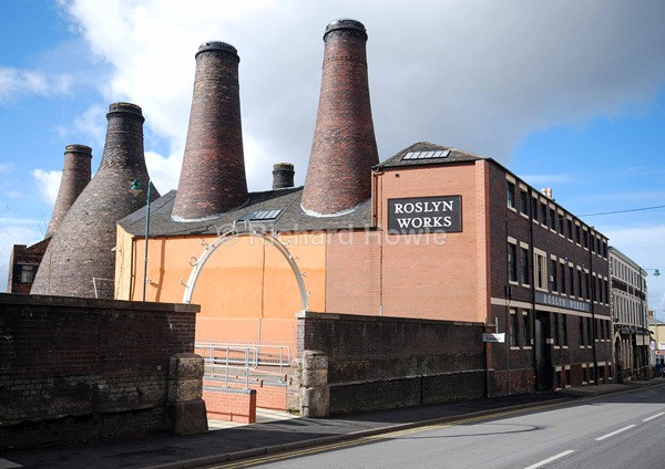 Roslyn Works - Potteries Images