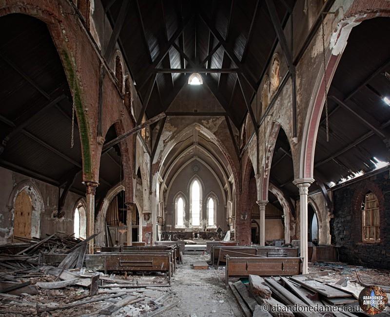 Undisclosed church   Abandoned America