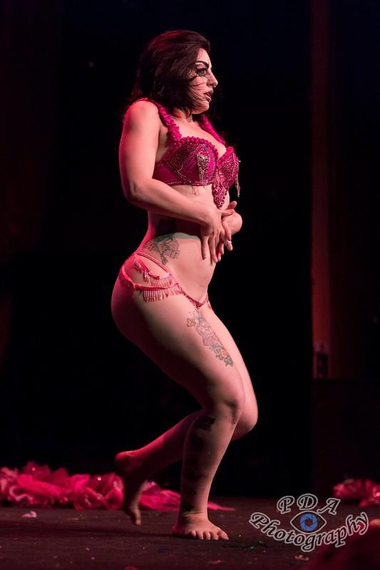 4 Aurora Galore in Burlesque Show Born to be Wild