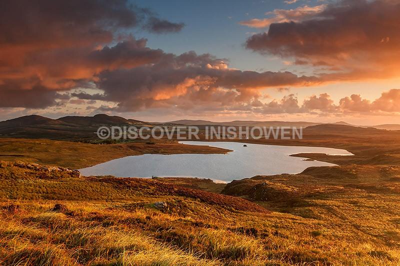Lough Fad , Meendoran - Inishowen peninsula