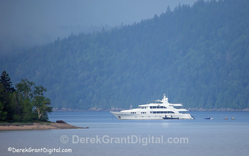 Mathers Island New Brunswick Canada - Playpen Luxury Yacht - New Brunswick Landscape