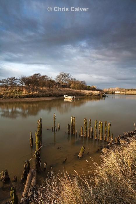 Stormy Reflections - Suffolk Coastal Scenes