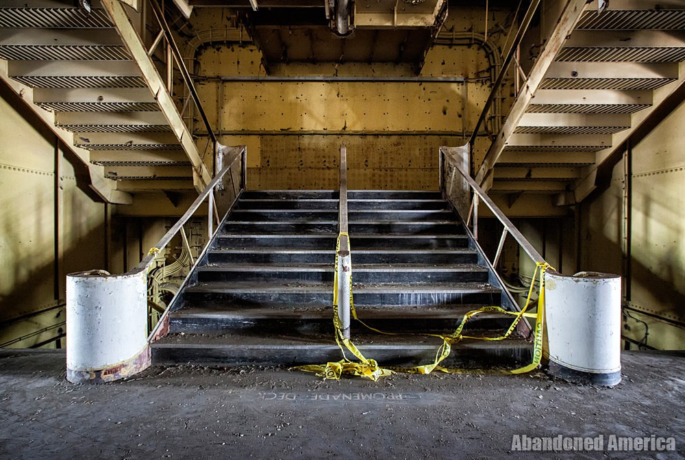 Grand Staircase | SS United States (Philadelphia, PA) - SS United States