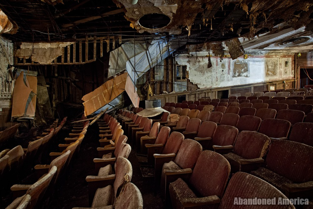 Victory Theatre (Holyoke MA) | Lower Level Collapse - The Victory Theatre
