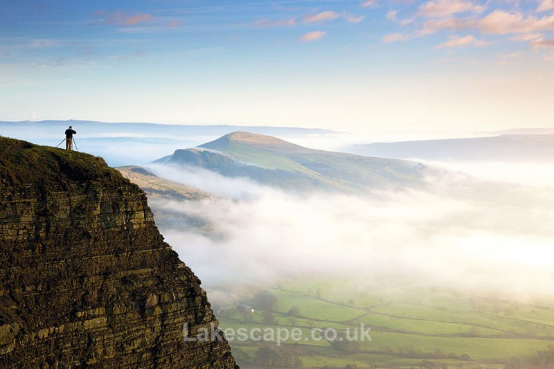 View From Mam Tor 2296 - The Peak District
