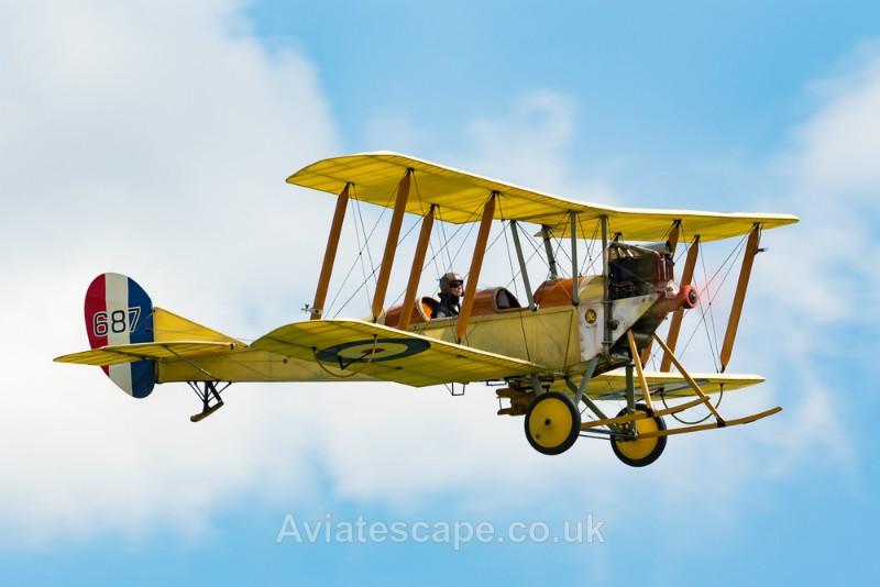 Royal Aircraft Factory BE2_2780 - World War One
