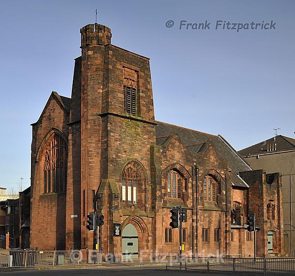 Queens Cross Parish church, Glasghow. - Glasgow