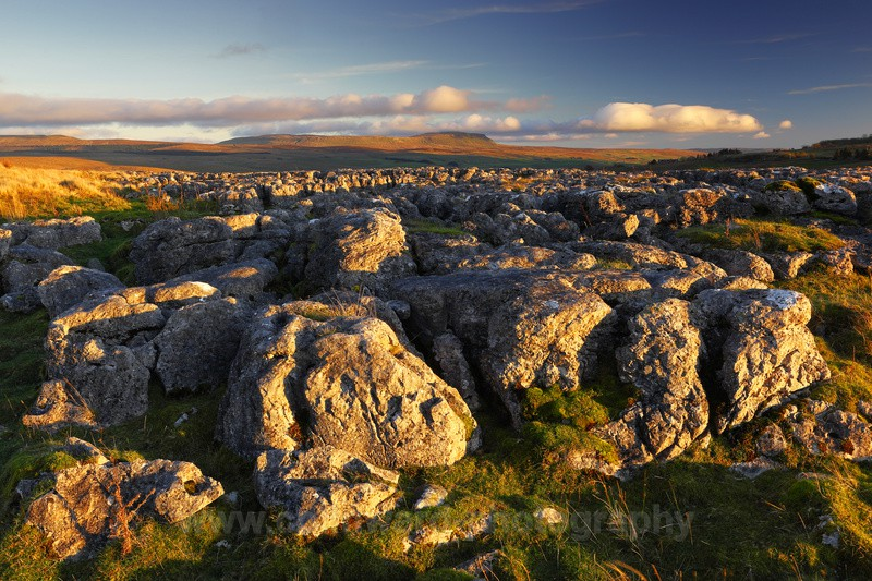 Limestone Pavement, Batty Moss.         ref 1388 - The Pennines and The Lake District
