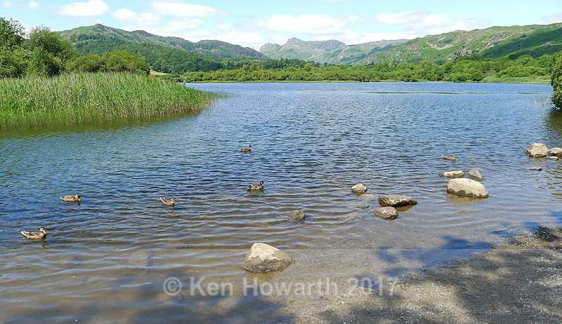 Langdales from Elterwater - Lakeland Landscapes