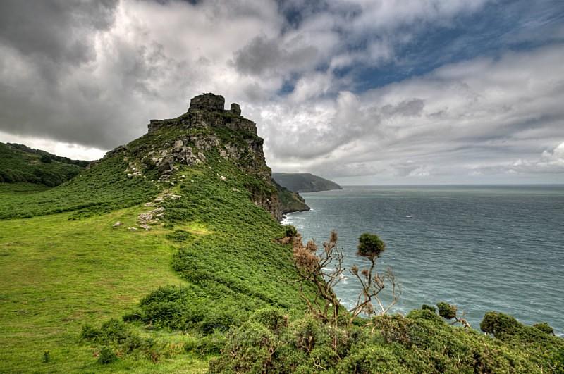 Castle Rock at Valley of the Rocks North Devon - Devon (Misc)
