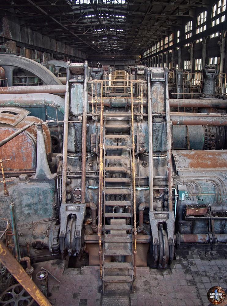 Bethlehem Steel (Bethlehem, PA) | Gas Blowing Room Ladder - Bethlehem Steel