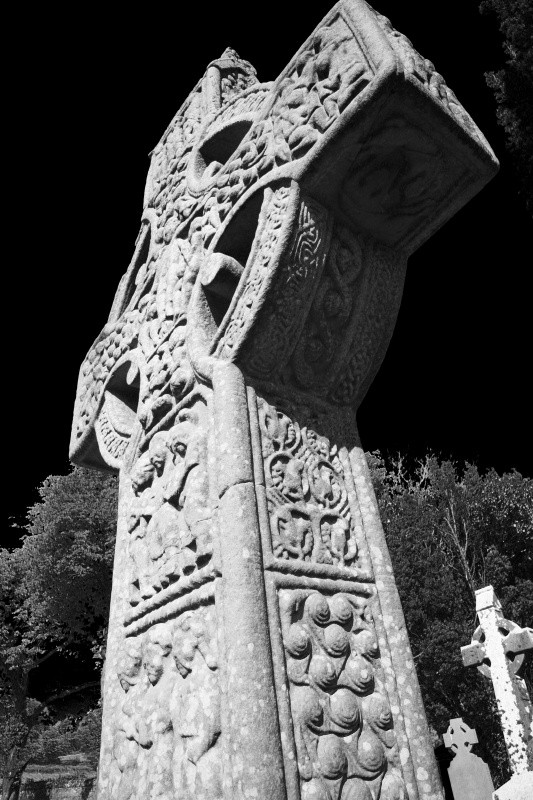 Muiredach's Cross - Ruins and Not So Ruined