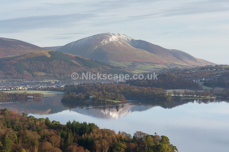 Blencathra in WInter | Nickscape Lake District Photography