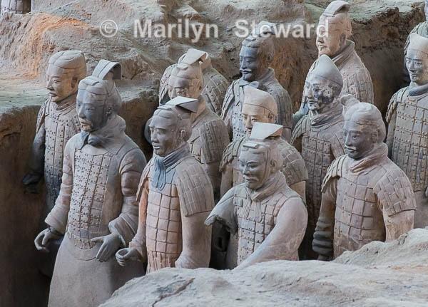Terracotta Warriors - China