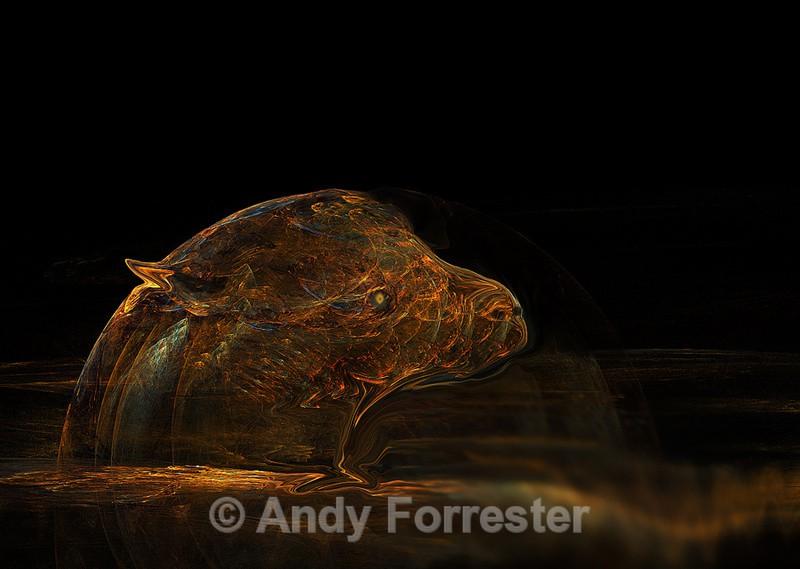 Night Beast - Apophysis Art