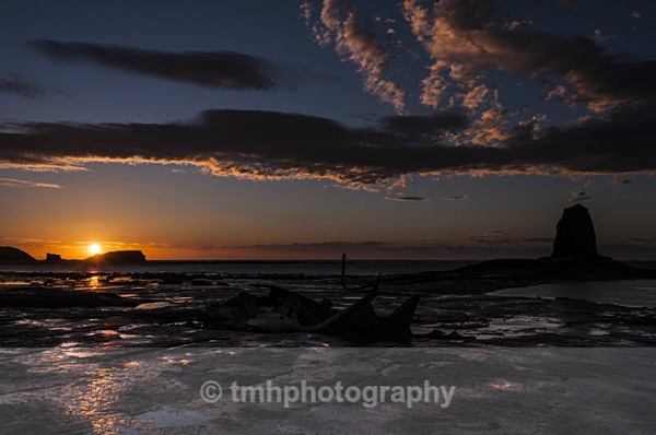 Nab Sunset. - Yorkshire Coast