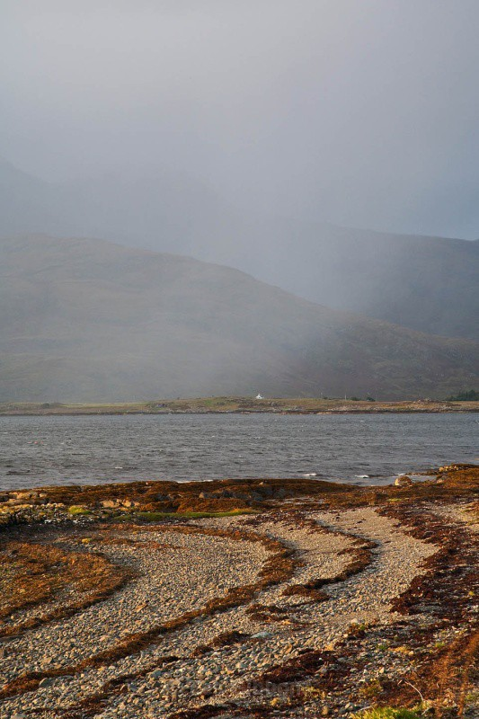 rain on loch scridain - Mull and Iona