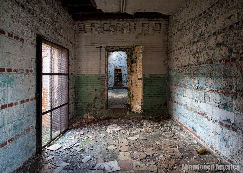 Connecting room, Holmesburg Prison, Philadelphia PA | Abandoned America by Matthew Christopher
