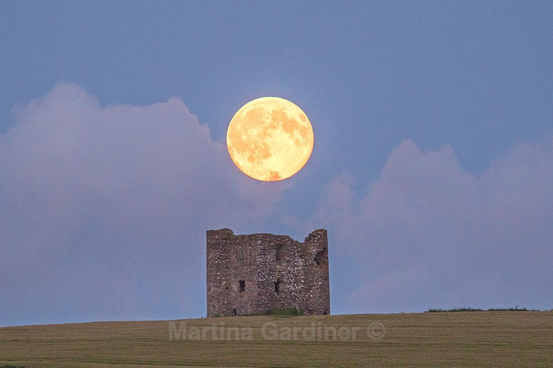 Blue Moon at Burt Castle - Ireland by Day