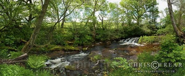Jim Black's Waterfall - Panoramics