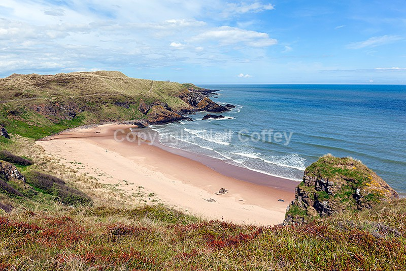 Hackley Bay, Forvie National Nature Reserve, Aberdeenshire - Landscape format