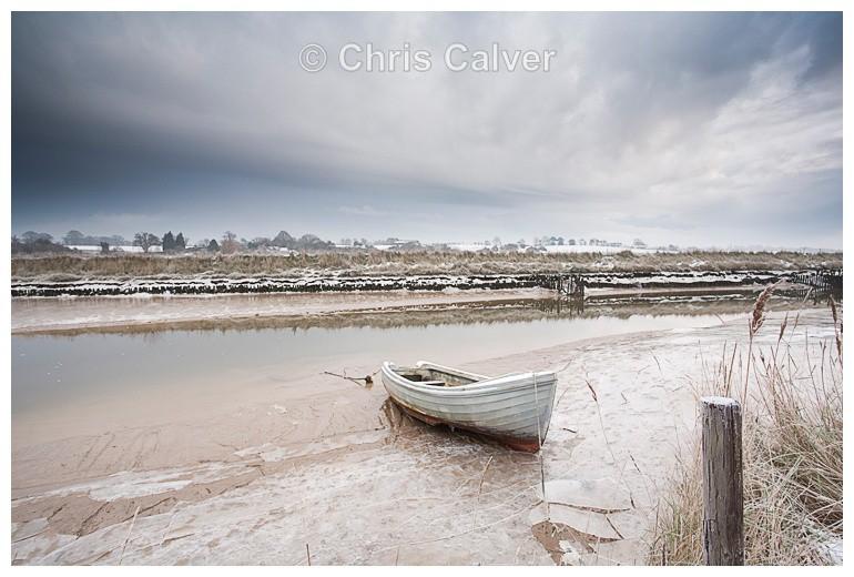 Iced II - Suffolk Coastal Scenes