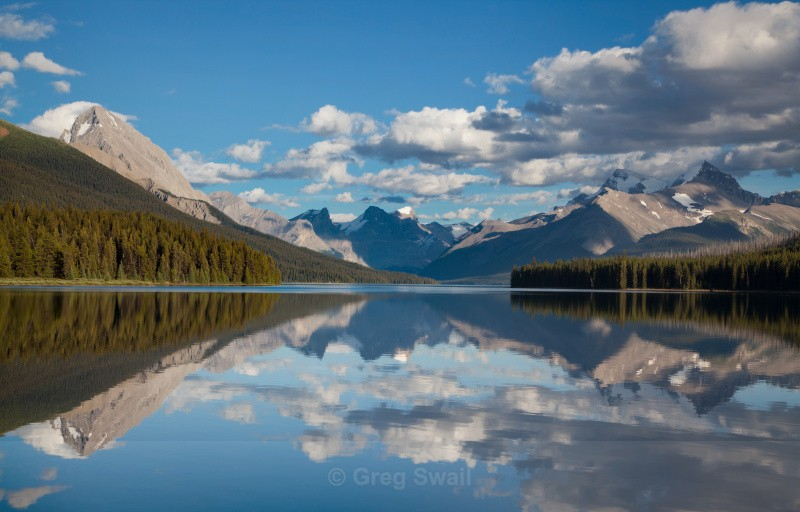 Maligne Evening - BC and the Rockies,Canada
