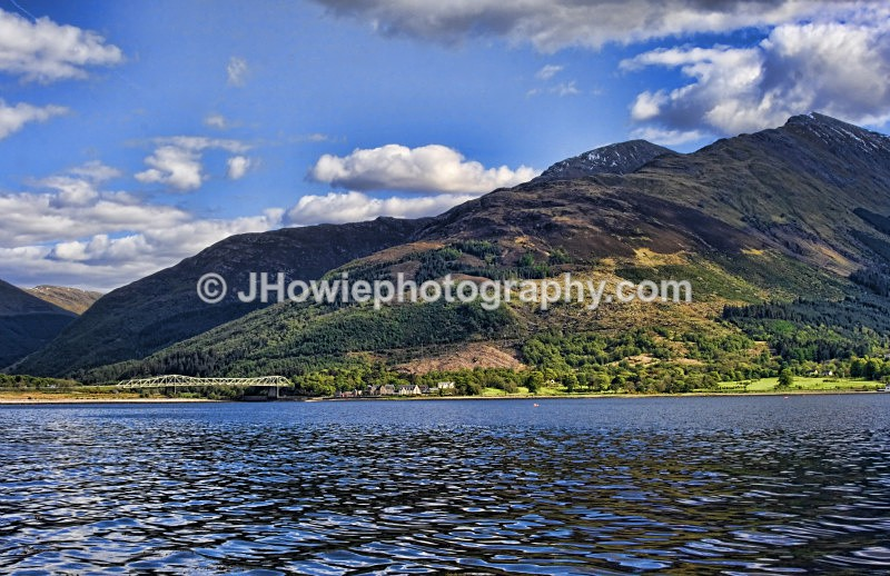 Ballachulish Bridge crossing Loch Linneh - Trossachs & Highlands