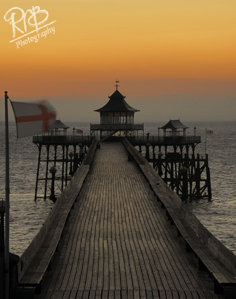 Clevedon Pier Sunset 3 - Wiltshire & West Country Landscapes