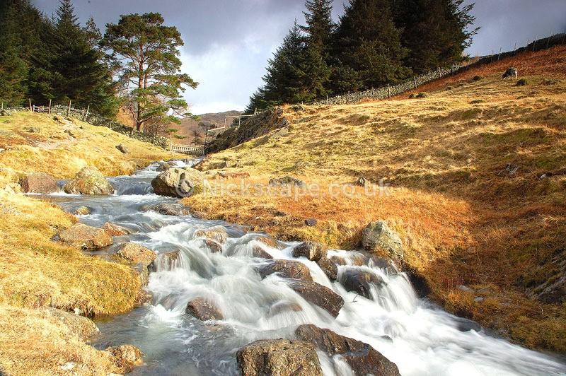 Cumbria14 - Blea Tarn Stream - Lake District National Park