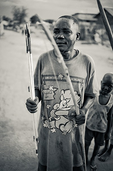 Member of the Mundari Community, Juba, South Sudan